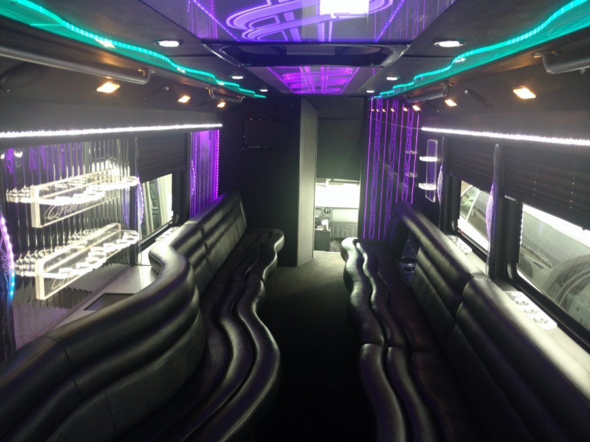 "Photo of Limo Bus for sale: 2011 Ford  F550 33"" by LGE Coachworks"