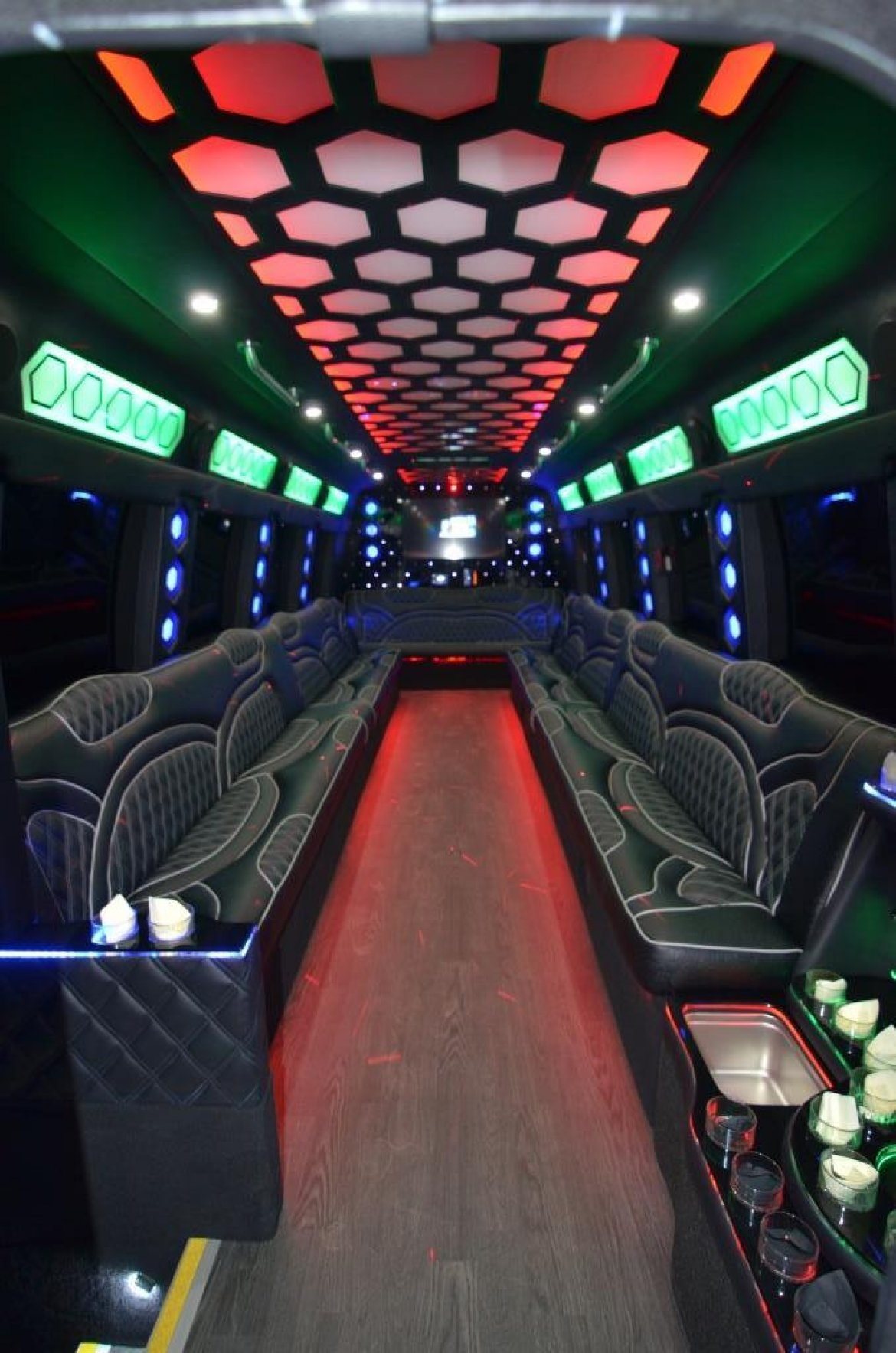 Photo of Limo Bus for sale: 2017 Ford F550 by Global Motor Coach