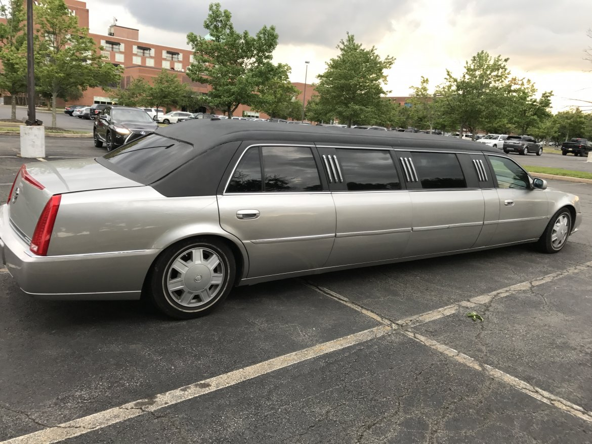 "Limousine for sale: 2006 Cadillac DTS  120"" by LCW"