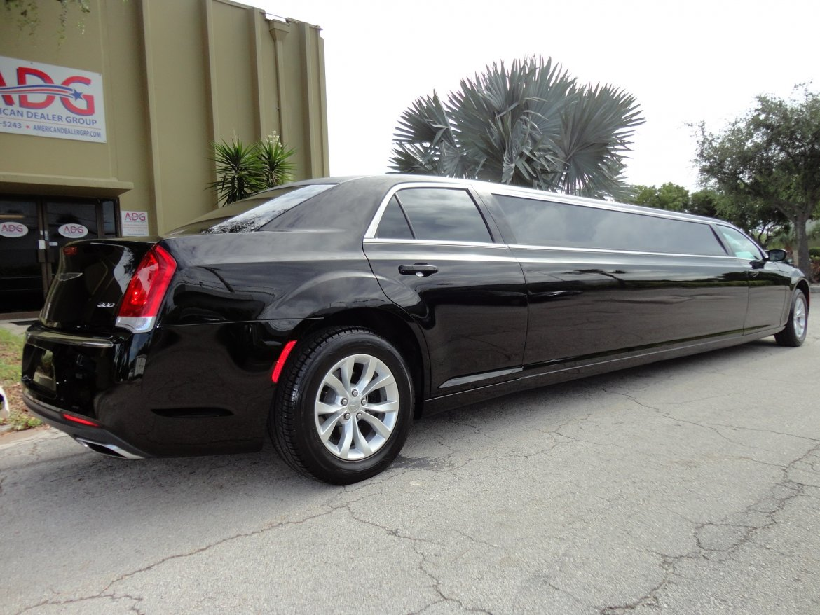 used 2016 chrysler 300 limousine for sale 10539 we sell limos. Black Bedroom Furniture Sets. Home Design Ideas