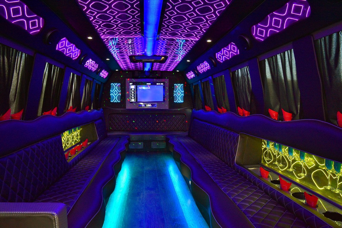 Photo of Limo Bus for sale: 2008 International 3200 by Krystal Koach
