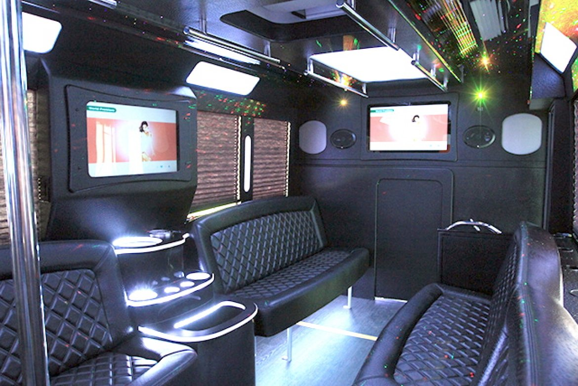 "Photo of Limo Bus for sale: 2017 Ford E-450 28"" by Tiffany Coach"