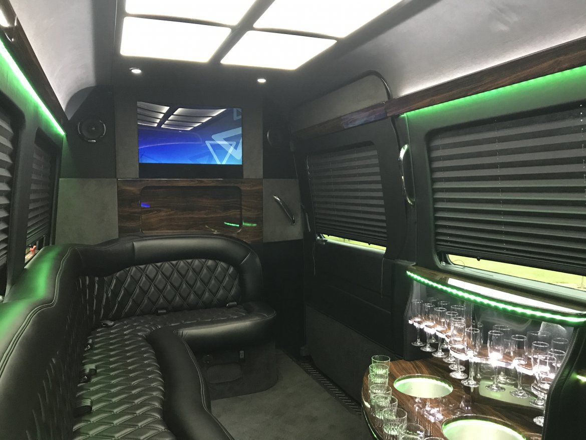 "Sprinter for sale: 2014 Mercedes-Benz 2,500 Limo VIP 170"" by First Class Customs"