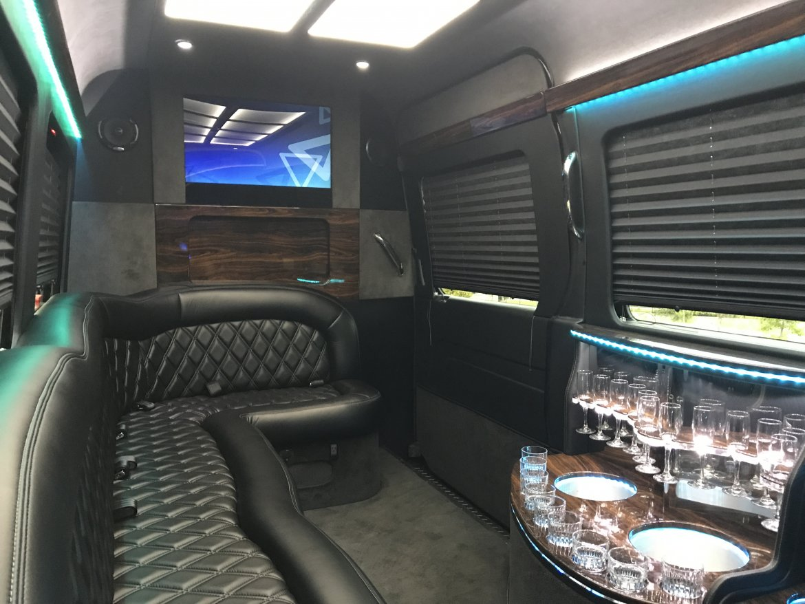 "Photo of Sprinter for sale: 2014 Mercedes-Benz 2,500 Limo VIP 170"" by First Class Customs"