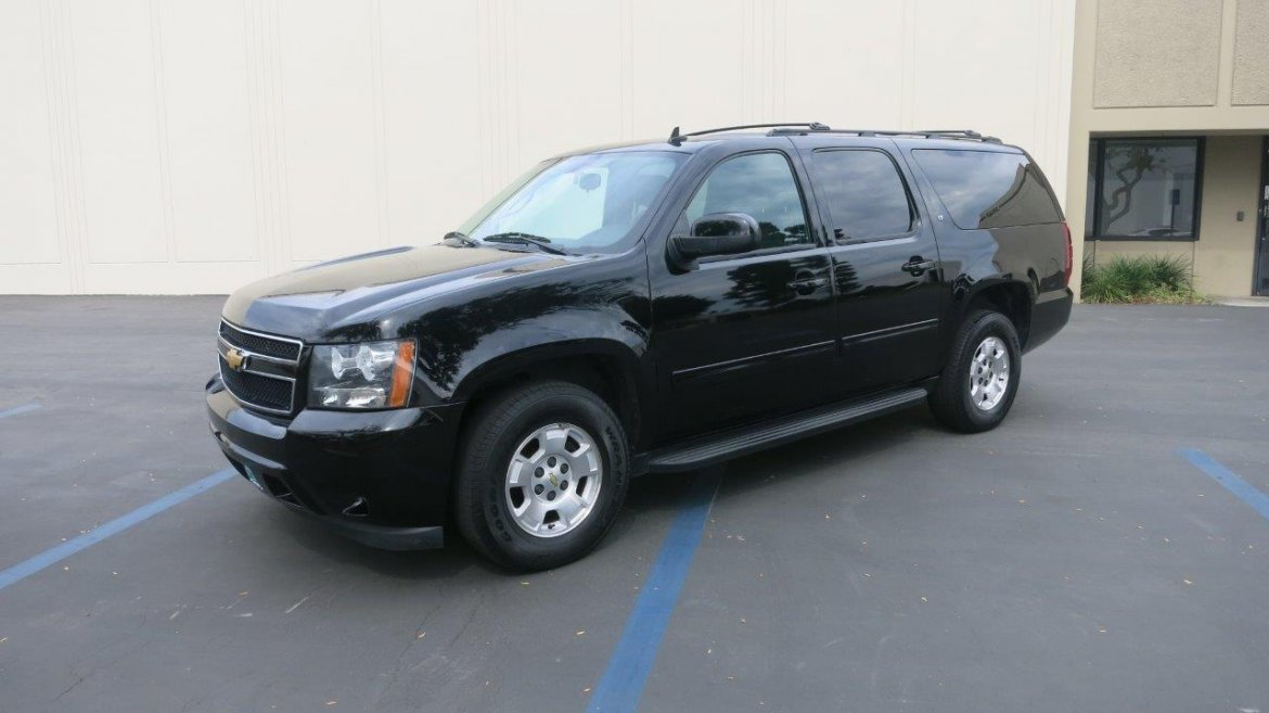 used 2013 chevrolet suburban lt for sale ws 10645 we sell limos. Black Bedroom Furniture Sets. Home Design Ideas