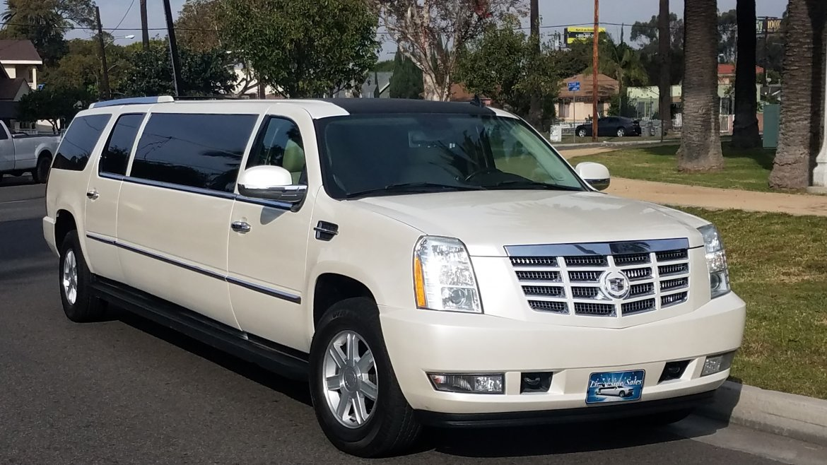 used 2007 cadillac escalade for sale ws 10702 we sell limos. Black Bedroom Furniture Sets. Home Design Ideas
