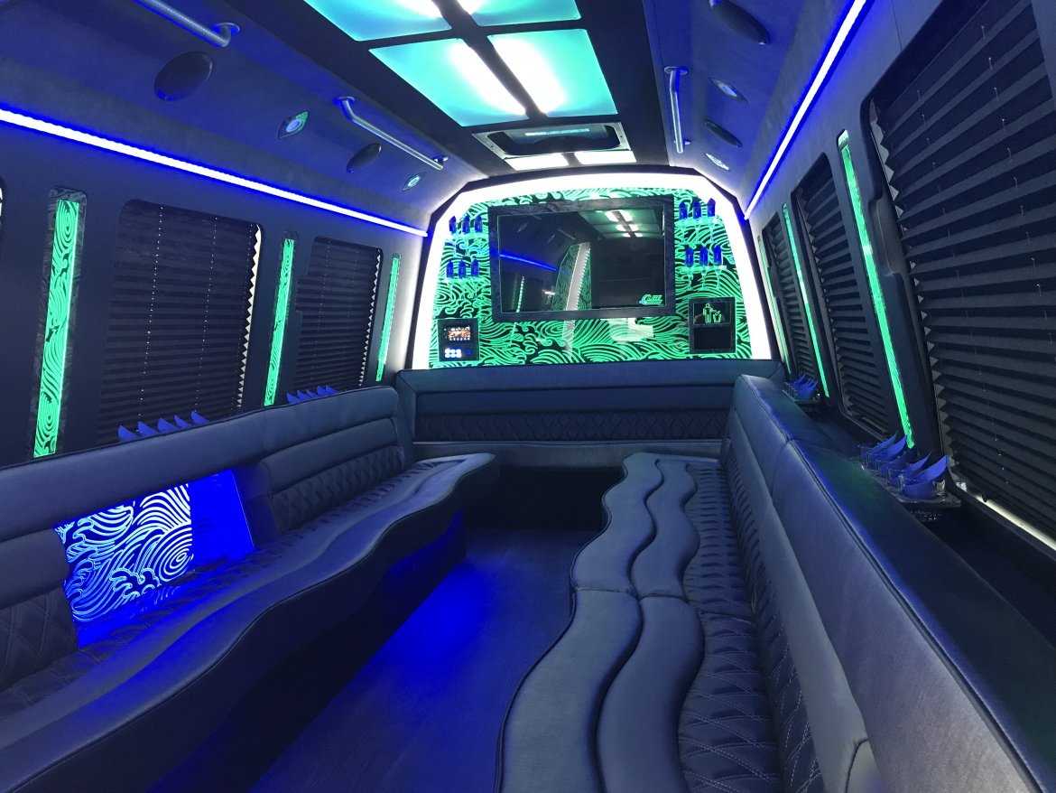 Photo of Limo Bus for sale: 2018 Ford E450  by LGE Coachworks