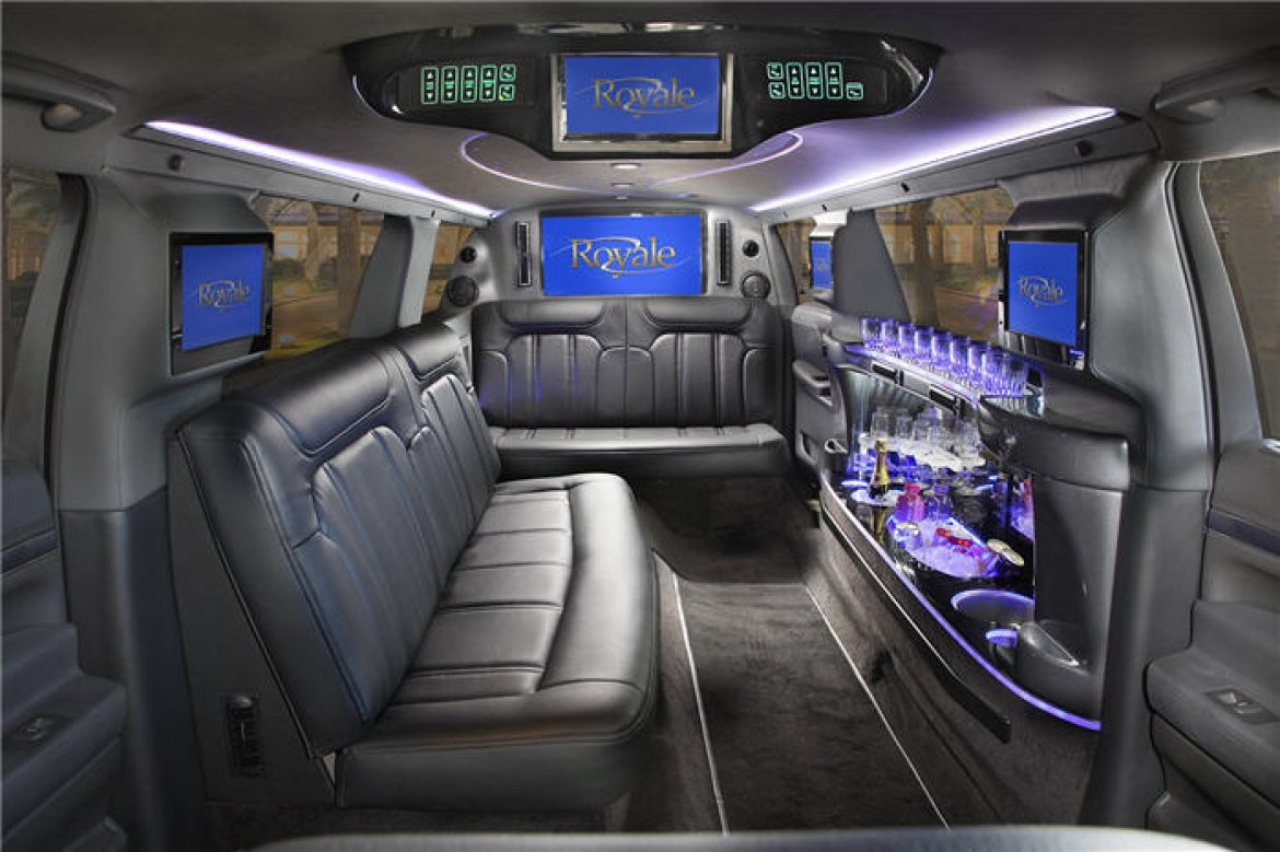 Limousine For 2016 Lincoln Mkt 120 Inch Stretch