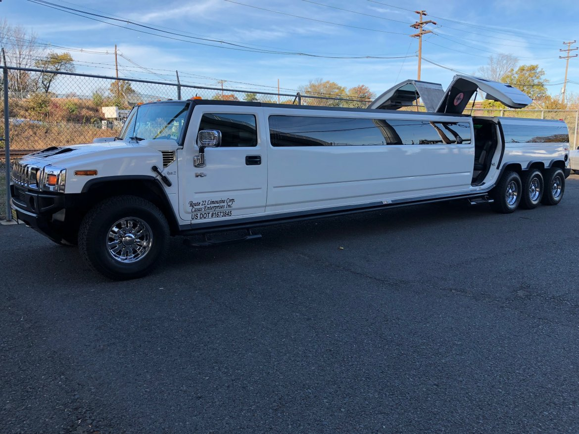 Photo of SUV Stretch for sale 2006 Hummer H2 Tri-Axle 280\u0026quot; by & Used 2006 Hummer H2 Tri-Axle for sale #WS-10722 | We Sell Limos