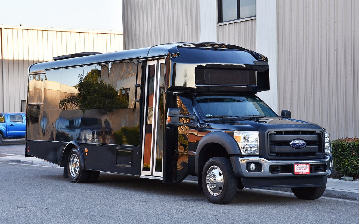 Limo Bus For Sale 2014 Ford F 550 In Fontana Ca 10748