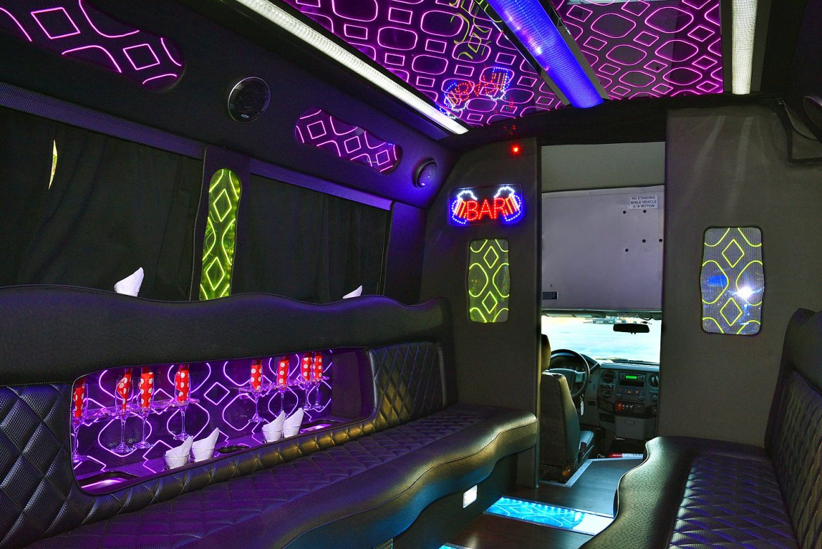 Photo of Limo Bus for sale: 2014 Ford F-550 by glaval