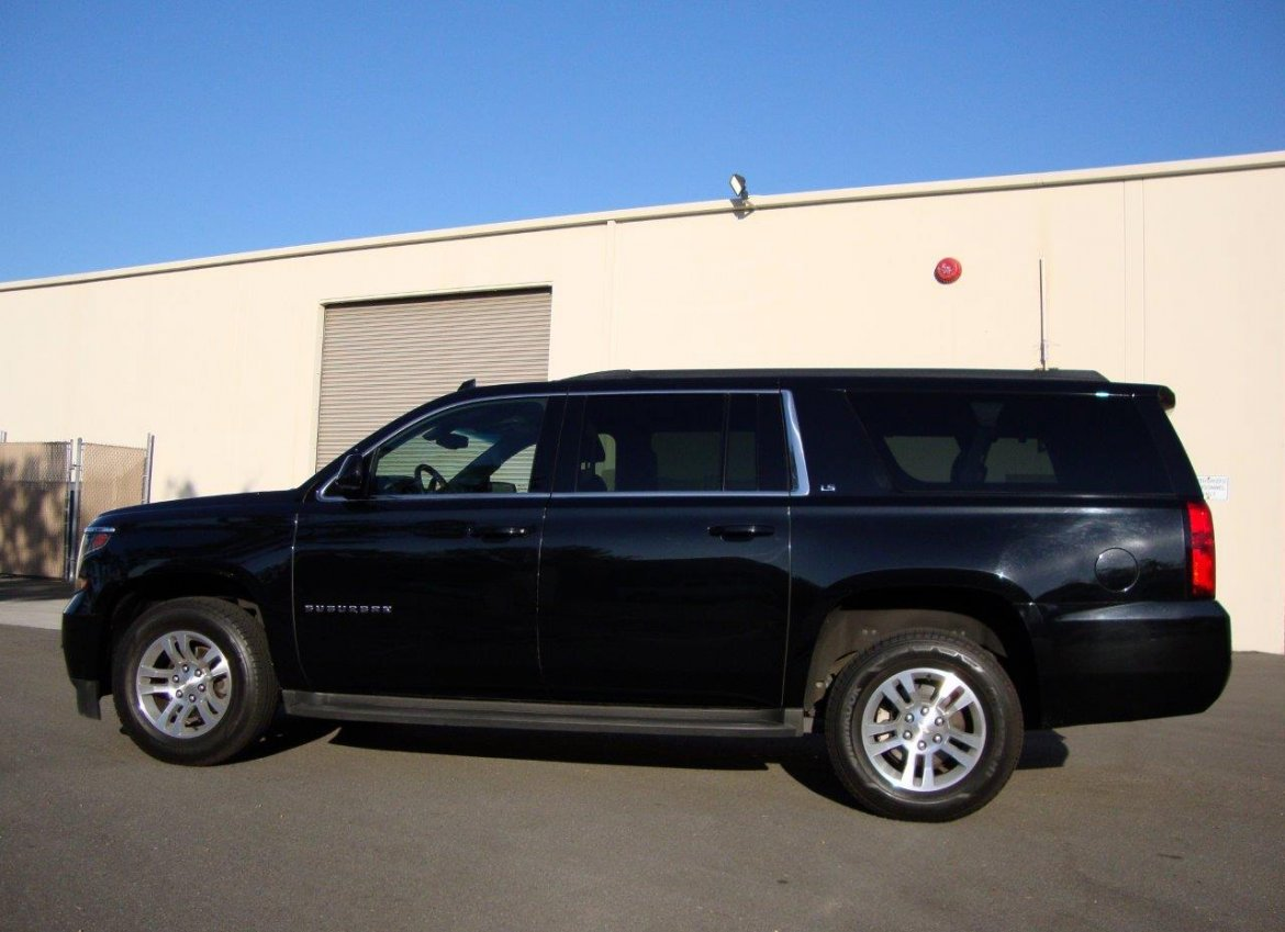used 2015 chevrolet suburban 1500 ls for sale ws 10760 we sell limos. Black Bedroom Furniture Sets. Home Design Ideas