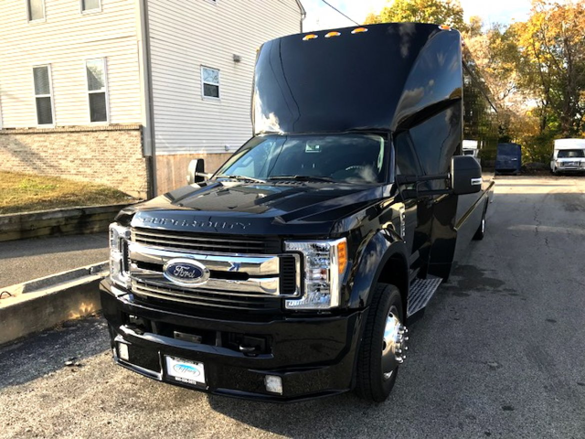 "Photo of Limo Bus for sale: 2017 Ford F-550X 37"" by Tiffany Coach"
