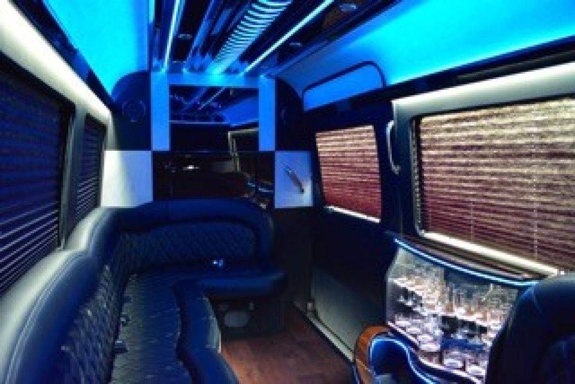 "Photo of Sprinter for sale: 2015 Mercedes-Benz Limousine 170"" by First Class Customs Inc"