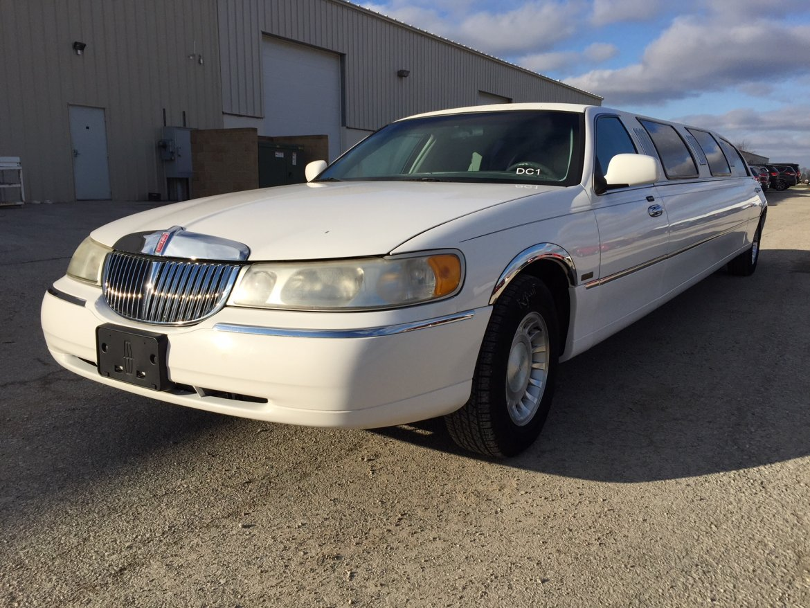 Used 2001 Lincoln Town Car Executive Limousine For Sale Ws 10872