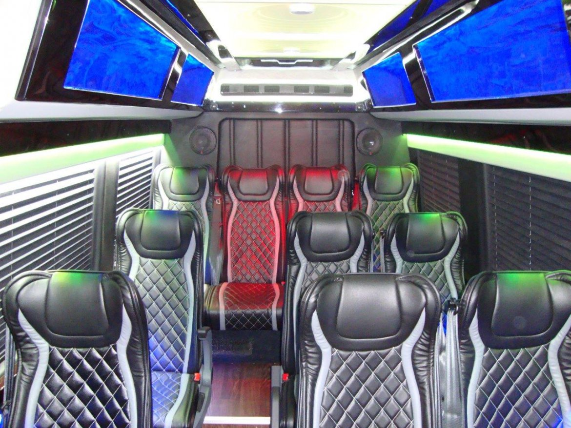New 2017 mercedes benz 3500 shuttle for sale ws 10874 for Mercedes benz stadium will call location