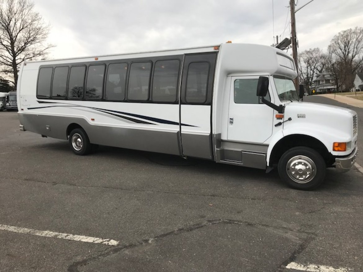 Photo of Limo Bus for sale: 2002 International 3200 by Krystal Koach