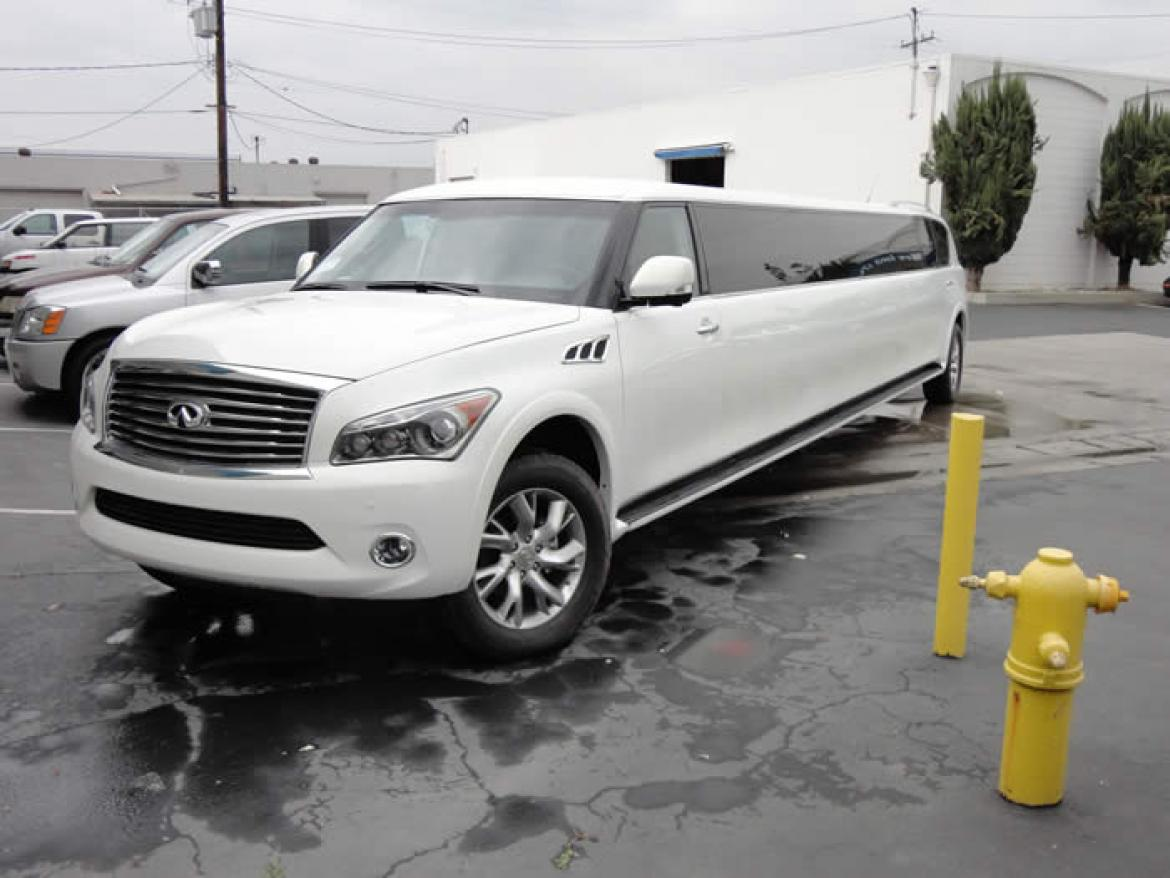 used 2014 infiniti infiniti qx80 for sale ws 10009 we sell limos. Black Bedroom Furniture Sets. Home Design Ideas