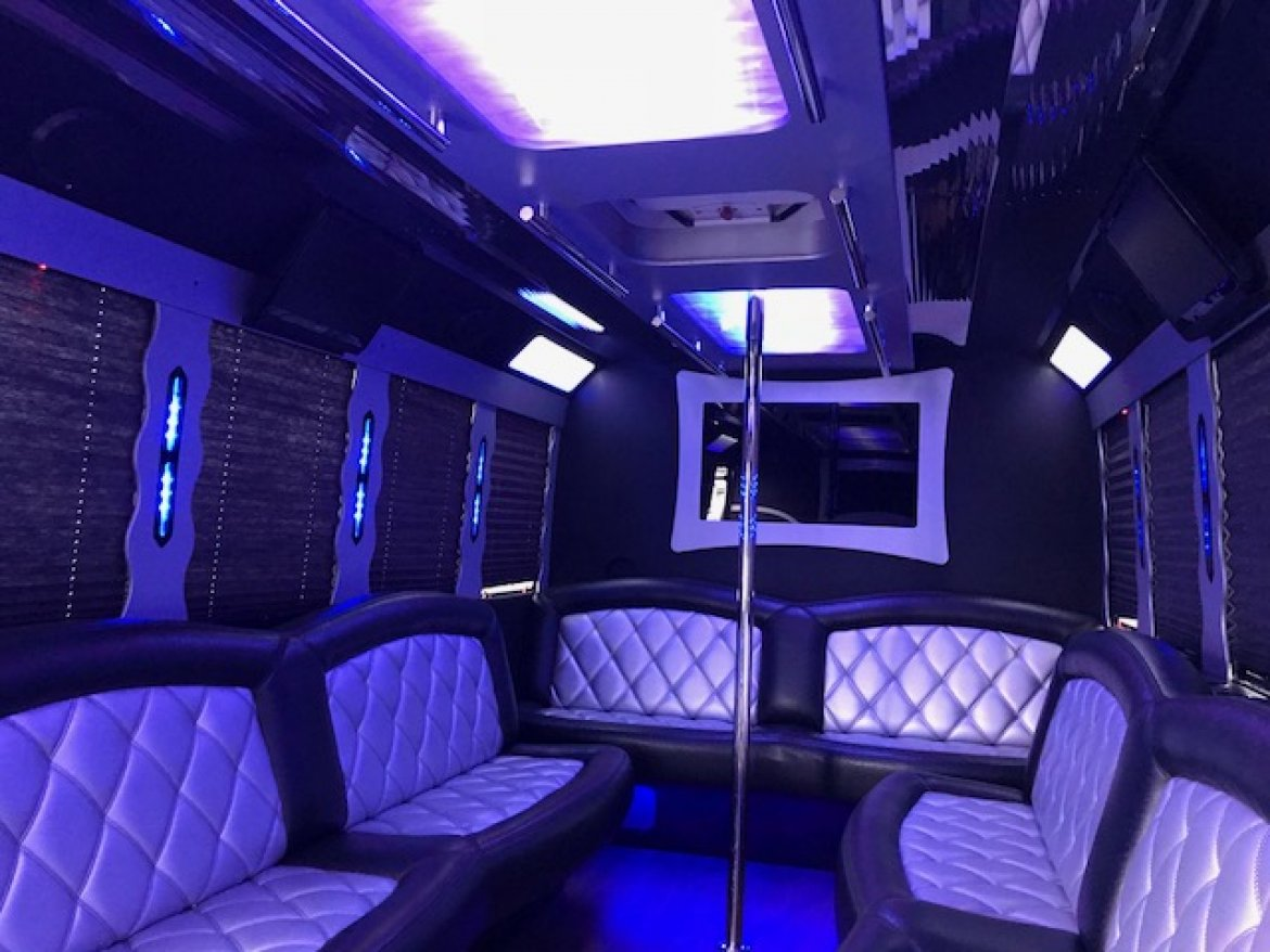 "Photo of Limo Bus for sale: 2011 Ford E-450 28"" by Tiffany Coach"