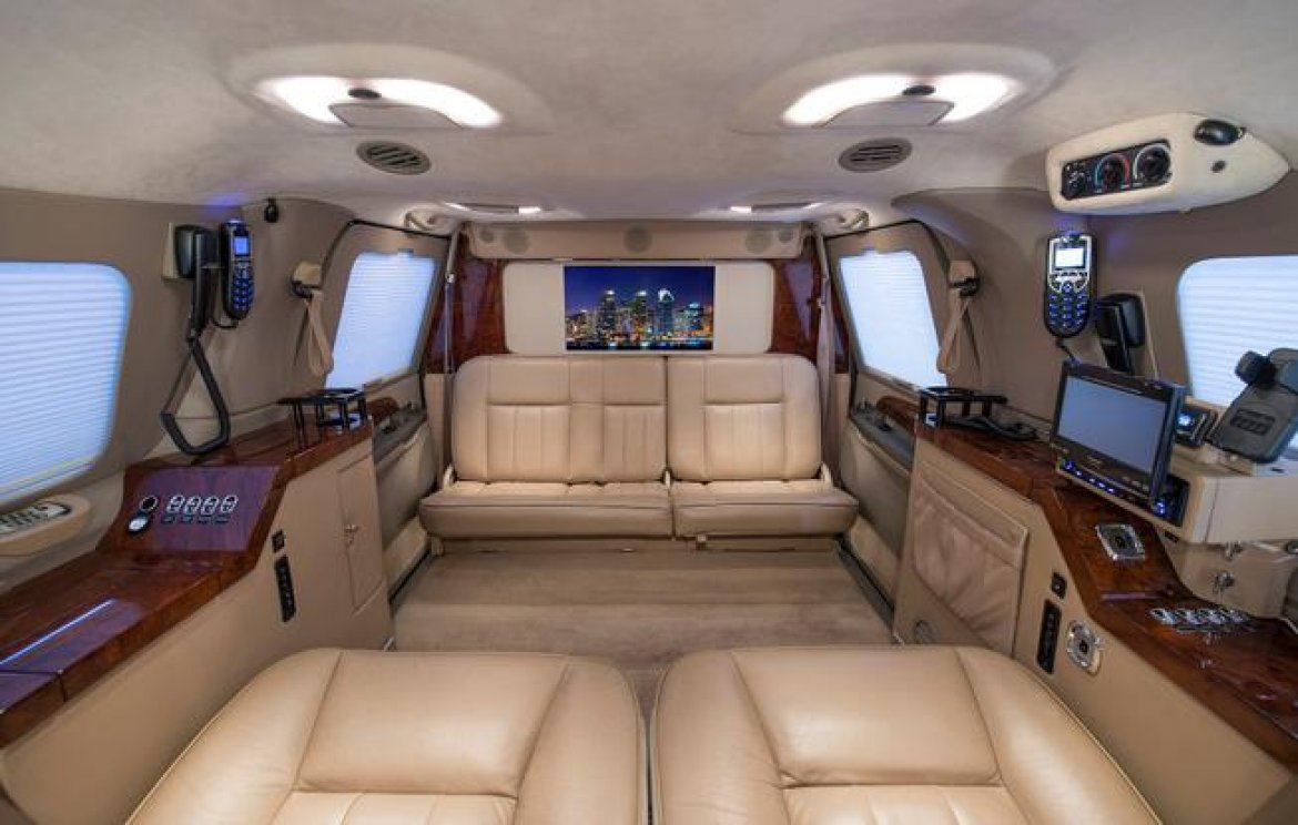 CEO SUV Mobile Office For Sale: 2001 Ford Excursion By Becker Automotive  Design